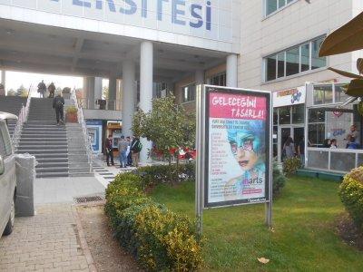 university campus billboards